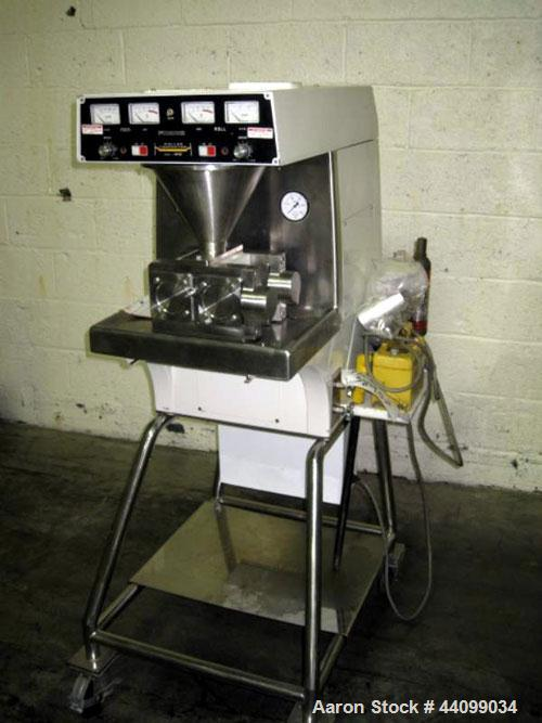 Used- Stainless Steel Vector Roller Compactor, Model TF-MINI