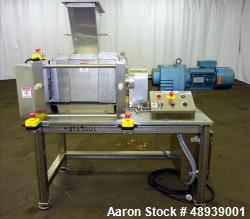 Used- Roll Compactor, Stainless Steel.