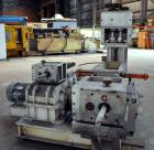 Used- Bepex Roll Compactor, Model K300-200. 17-4 PH Stainless steel rolls measure 12