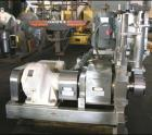 USED: Fitzpatrick Chilsonator model 4LX10D. All stainless steel including base, guards, legs and panel. 10