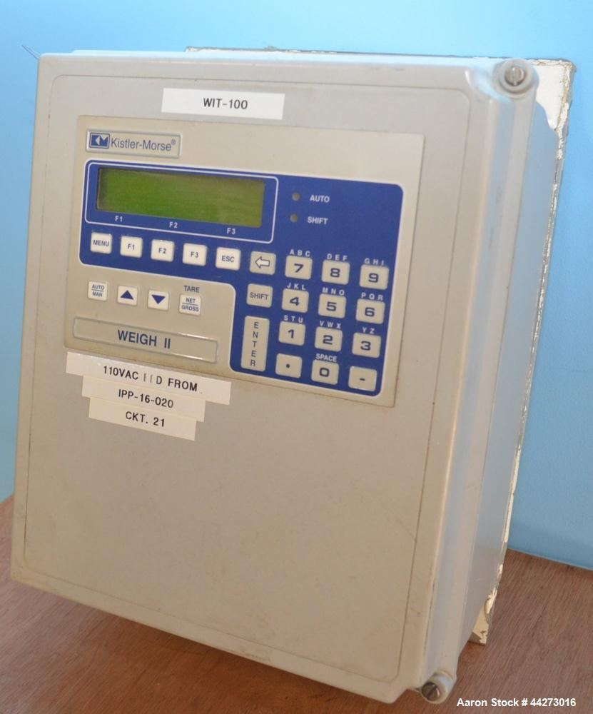 Used- Kistler Morse Model Weigh II Transmitter Control Indicator