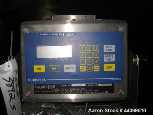 Used- Fairbanks Portable Floor Scale, Model H30-30520. Serial# H 554362 NE.