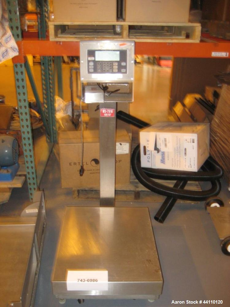 Used- Fairbanks Scale 10-500 Kg