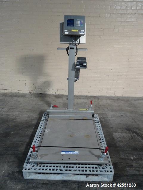 Used- Mettler Toledo Floor Scale.