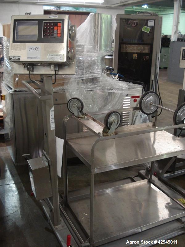 """Used-30"""" x 30"""" Mettler Toledo scale, type M-8142, XP class 1,2,3, division 1, serial# 6115092-6PX.  NOTE PRICE INCLUDES A 15..."""