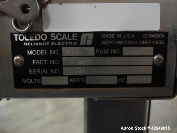 "Used- Mettler-Toledo Scale, Type M-8142. 24"" x 30"""