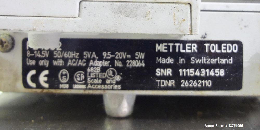 Used- Mettler Toledo Lab Scale, Model PB1502. 1510 gram Maximum capacity (3.3 pounds).