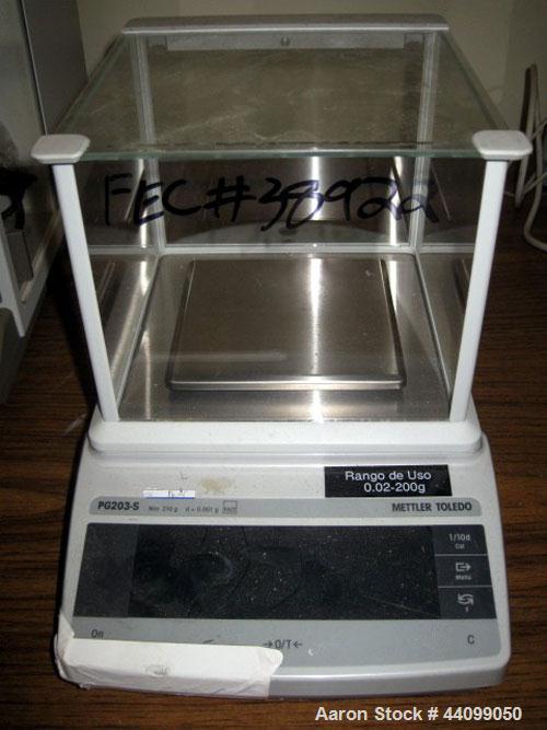 Used-Mettler Toledo balance, Model PG203-S