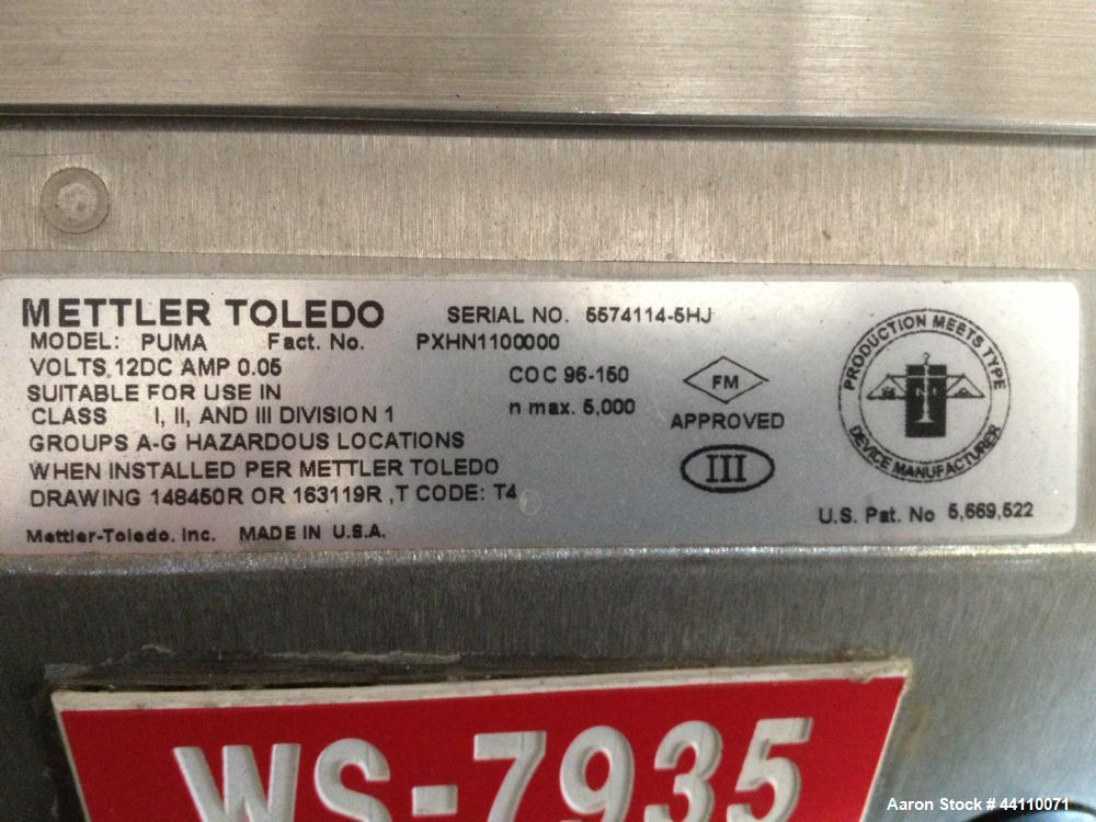 Used- Mettler Toledo Scale