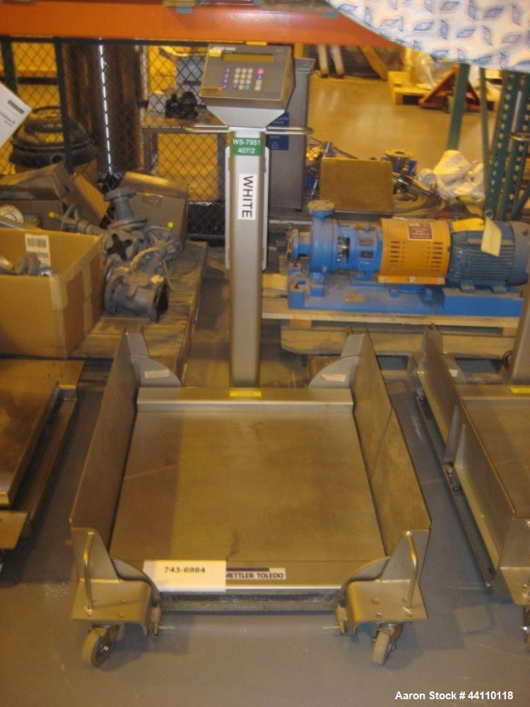 Used- Mettler Toledo Puma Scale, 10-400 Kg, S# 5653617-5CM