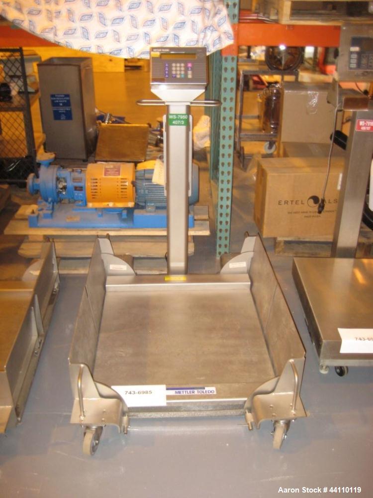Used- Mettler Toledo Puma Scale, 10-400 Kg