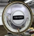 Used-  Toledo Platform Scale. Approximate 250 Pound capacity, 24