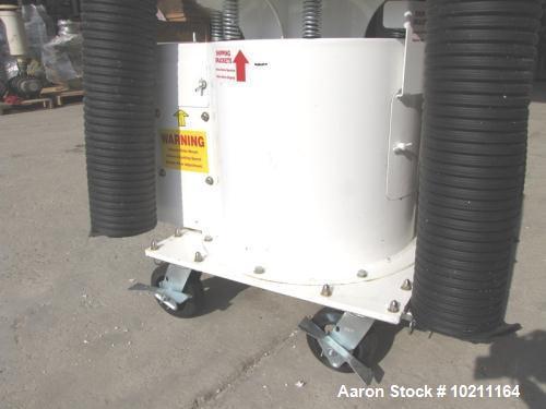 "Used-Midwestern Industries Screener, 24"" Diameter, Model ME24S4-4-4, Stainless Steel.  2 Deck, 3 separation, no top cover.  ..."