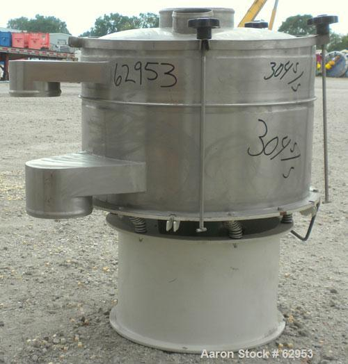 "Unused- Cuccolini Vibrating Sifter, Model VPA600 2X, 304 Stainless Steel. Approximate 24"" diameter (600 mm), single deck, 2 ..."