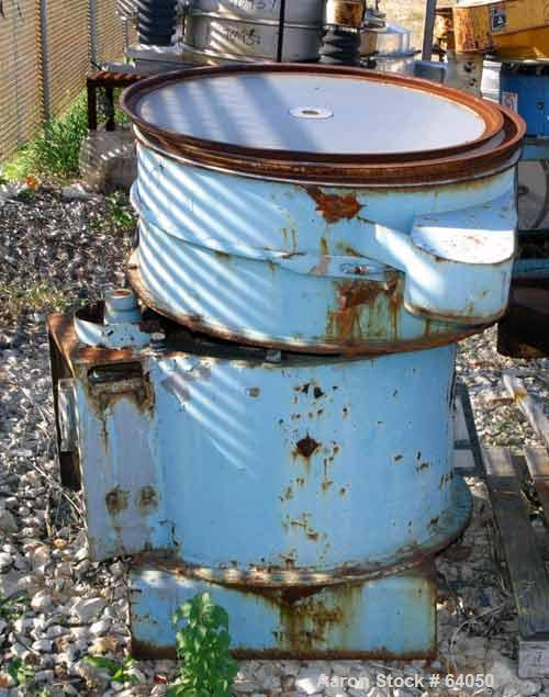 "USED: Ferro-Tech Inc separator, 36"" diameter, model Midwest 36"". Carbon steel, 3 deck, 4 separation, no top cover, belt driv..."