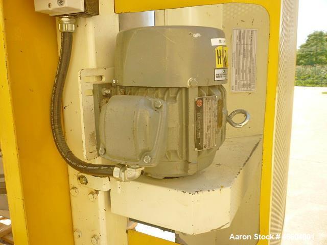"Used- Great Western Pneumatic In-Line Tru-Balance Sifter, Model 631. (2) Motors: 1.5 HP, 575 V 1155 RPM. Sieve size 52"" diam..."