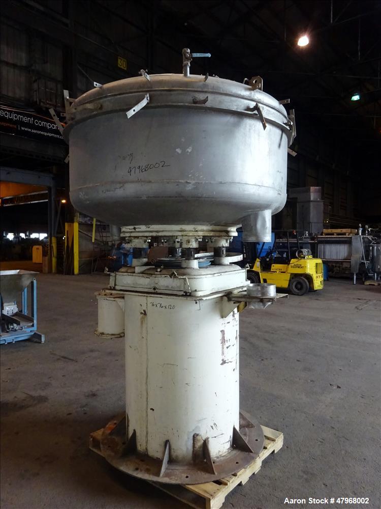 Used- Gump In-Line Pressure Screener, Model CP-53, 304 Stainless Steel.