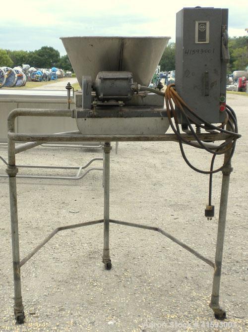 "Used- Stainless Steel J H Day Screener (Single Deck, Single Separation, 16"" diameter)"