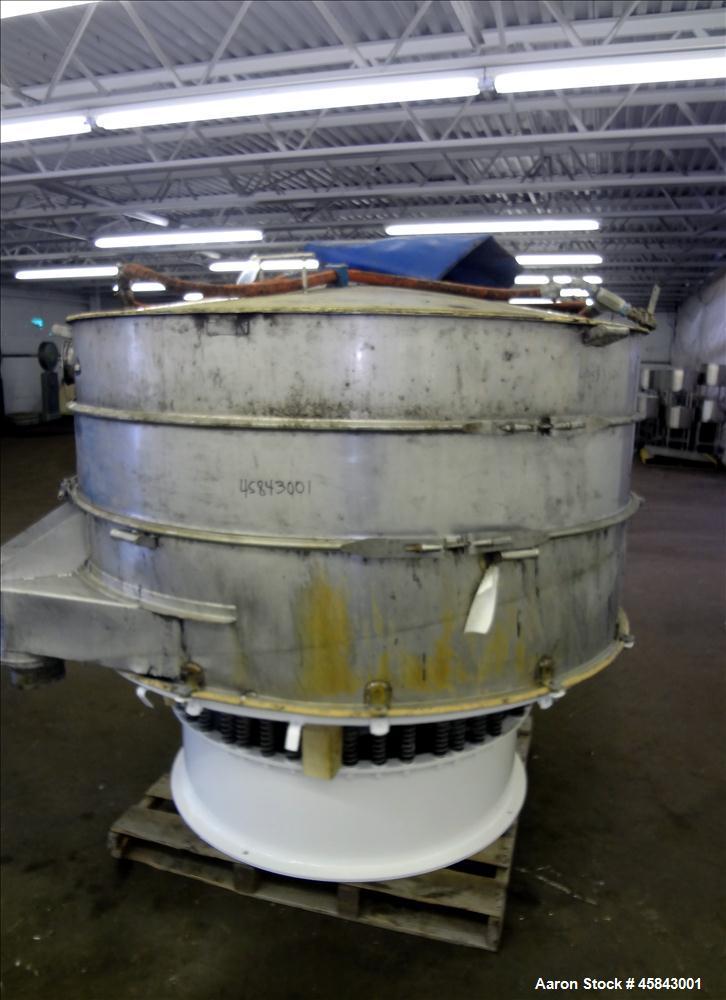 Used- Kason Screener, Model K-72-2-RC-SS