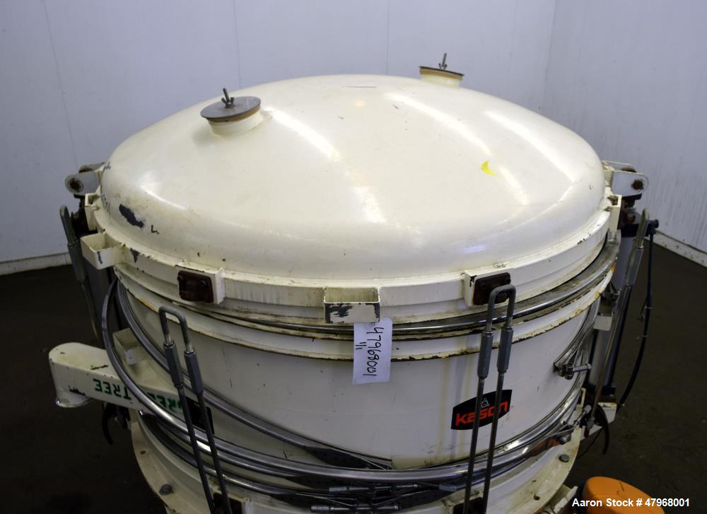 Used- Kason In-Line Pneumati-Sifter, Model K60-2PS-CS