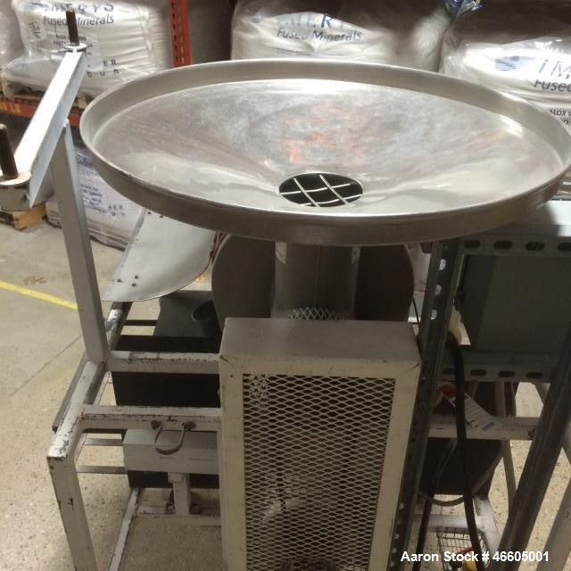 Used- Kason Centrifugal Sifter, Model MOB/SS. Free standing, gravity fed sifter in Kason's standard configuration. Stainless...