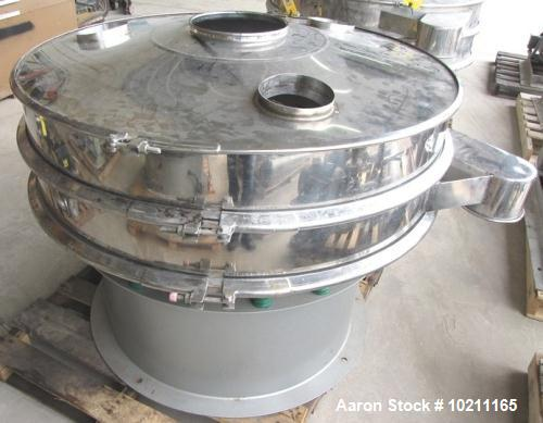 Used- Stainless Steel Kemco Circular Screener, Model 48