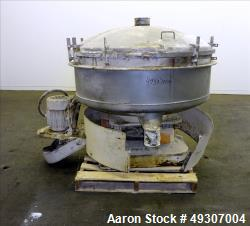 Used- Gump Pneumatic Inline Screener, Model CP-43, 304 Stainless Steel.