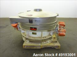 Used- Kason VibroScreen, Model K48-1FT-SS.