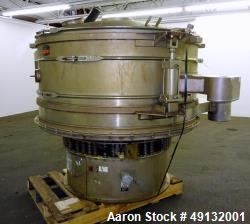 Used- Kason Screener, Model K72-2-316LSS, 316L Stainless Steel.