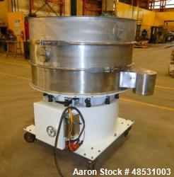 Midwestern Screener, Model Exo-Dyne, Stainless Steel. Triple deck, 4 seperation. Approximate 2hp mo...