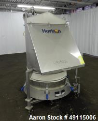 Used- Russell Finex Compact Sieve, Model 17900, 304 Stainless Steel.