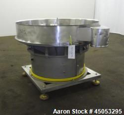 Used- Sweco Screener, Model LS48S86, 316 Stainless Steel.