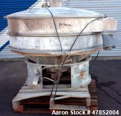 "Used- Sweco 60"" Vibro Energy Separator, Model LS60S888, Stainless Steel."