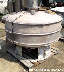 "Used- Sweco 60"" Vibro Energy Separator, Model LS60S88, Stainless Steel."