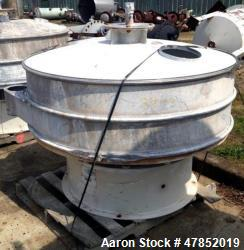 "Used- Sweco 60"" Vibro Energy Separator, Model OC60S8156, Stainless Steel."