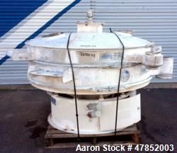 """Used- Sweco 60"""" Vibro Energy Separator, Model QC60S8156, Stainless Steel."""