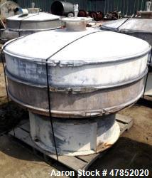 "Used- Sweco 60"" Vibro Energy Separator, Model US60S88, Stainless Steel."