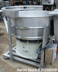 "Used- Sweco Screener, 48"" Diameter, Model XS48S88"