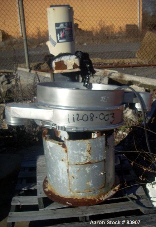 USED: Midwestern Screener, model ME24S4-4, stainless steel. 1 deck, 3/4 hp motor.