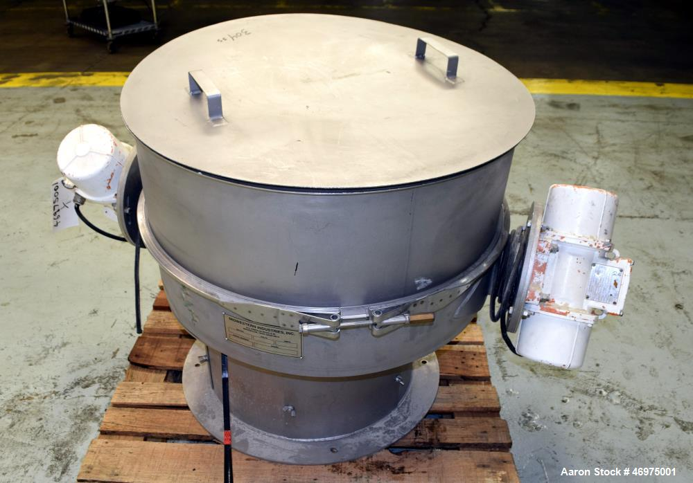 Used- Midwestern Industries Sifter/Scalper, Model # MLP30S6-10