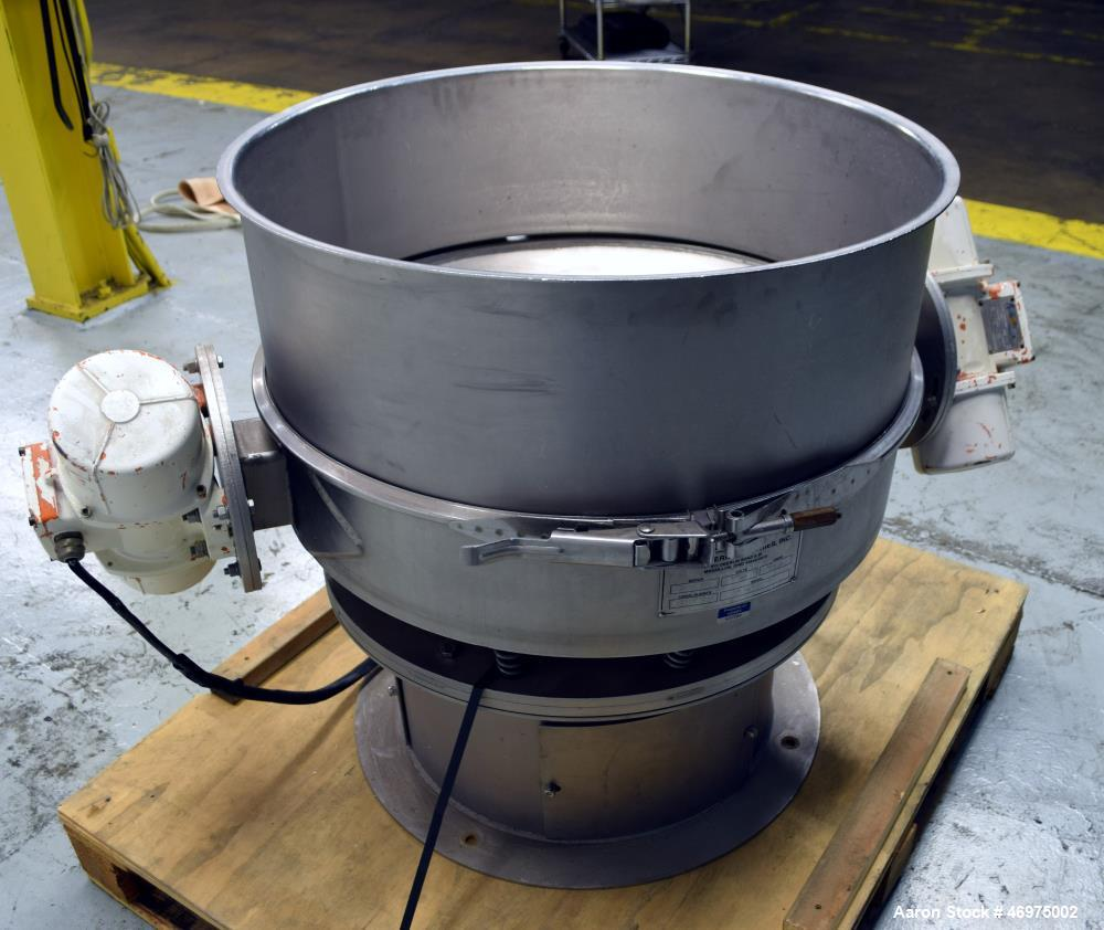 Used- Midwestern Industries Sifter/Scalper, Model MLP30S6-10, 304 Stainless Stee