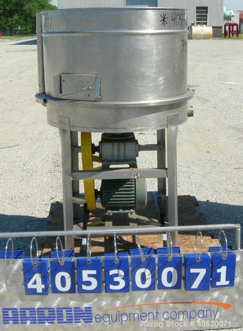 Used - Stainless SteelRotary Brush Sieve