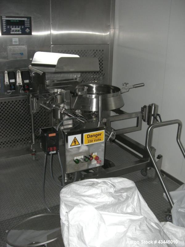 Used- Stainless Steel Russell Sieve, Type 17240