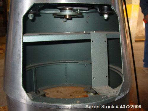 Used- Russell Sieve Screener, model 17300, stainless steel.