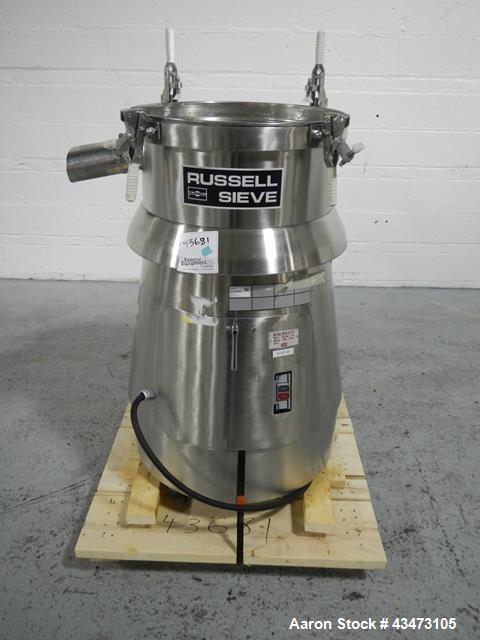 Used- Stainless Steel Russel Sieve, model 17300