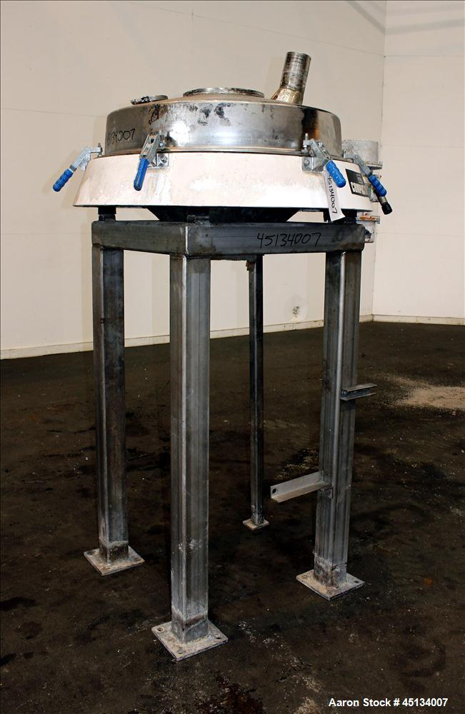 Used-Russell Finex Scalper Compact Sieve, Type CD18-3190