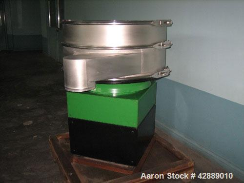 Used- Russel Finex Sifter Machine, Model 25070