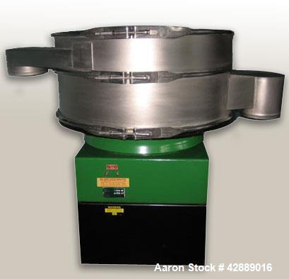 Used- Russell Finex Sifter Machine, Model 25070. 1.5 hp motor, totally enclosed, fan cooled, dual voltage. Star connection 3...