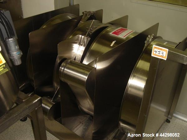 Used- Russel Sieve, Model 26070, stainless steel construction including base, single deck with vibrasonic ultra sonic screen...