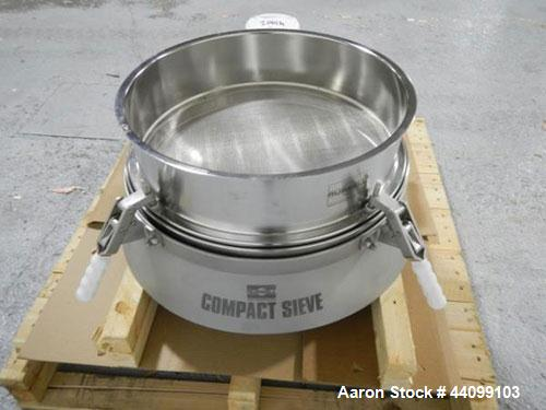 "Used- Russel Sieve, 30"" model CD18-130"